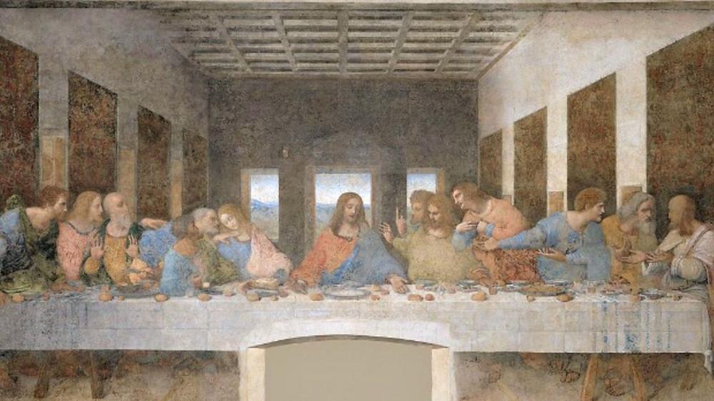 Leonardo da Vinci, 'The Last Supper', 1495-98