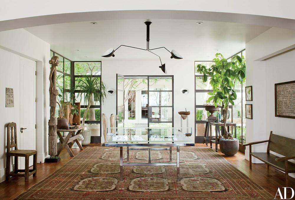 Ellen DeGeneres and Portia De Rossi's Beverly Hills home