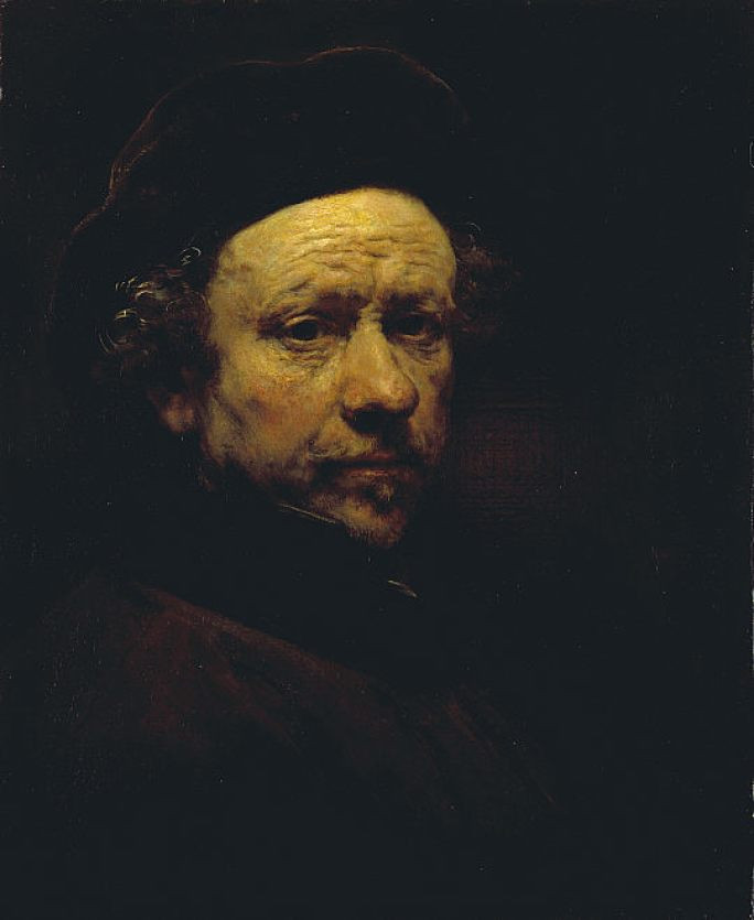 Rembrandt, 'Self Portrait', Aged 51, 1657. Image Courtesy : Sotheyby's