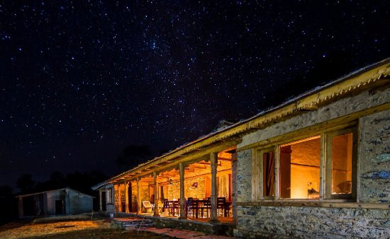 Clear Skies at the Goat Village in Raithal, Image credits: Tripadvisor