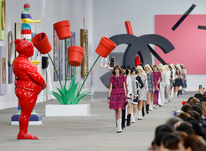 Spring/Summer 2014 collection, by Karl Lagerfeld for Chanel