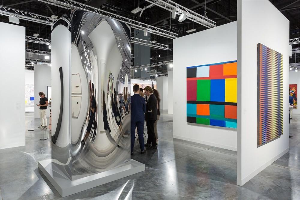 Installation view of Art Basel, Miami Beach, 2017