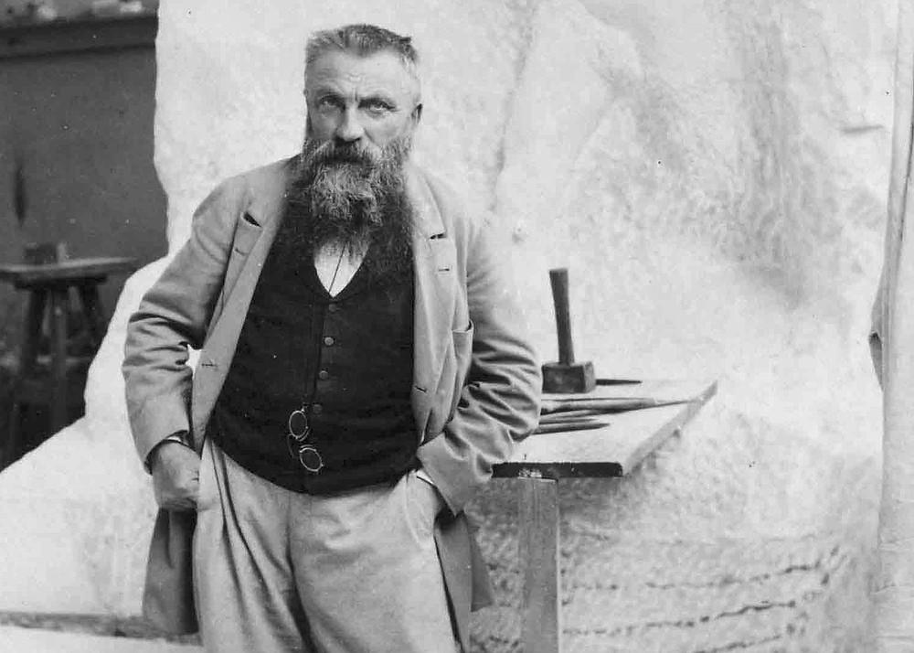 Portrait of Auguste Rodin, 1898, Image credit: Artlistr