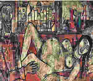 Francis Newton Souza: 'Birth', 1955