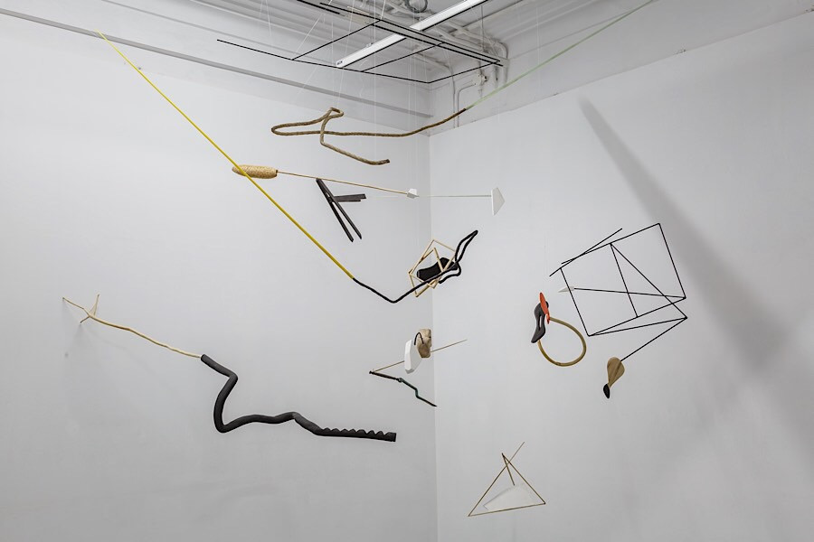 Installation view of 'A Second Coming' at Experimenter Ballygunge Place