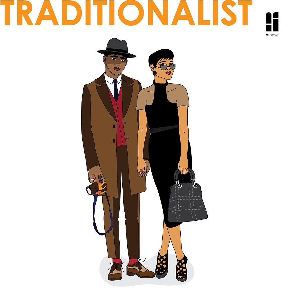 Art Persona: Traditionalist