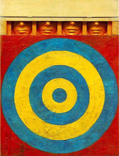 Target with Four Faces, Jasper Johns | Source: Radford