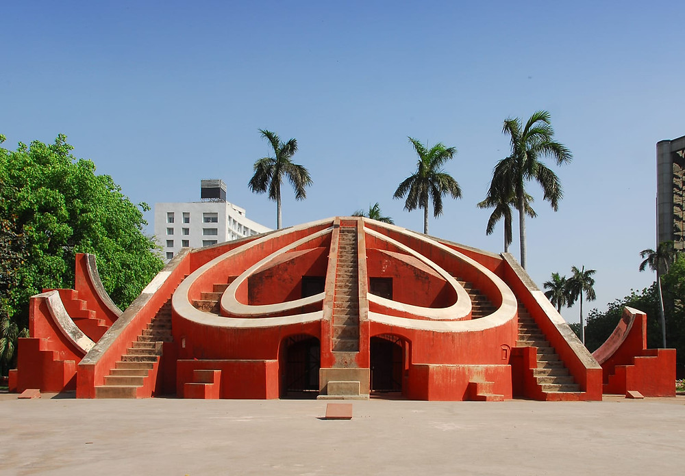 The Jantar Mantar in New Delhi, Image credits: Goibibo