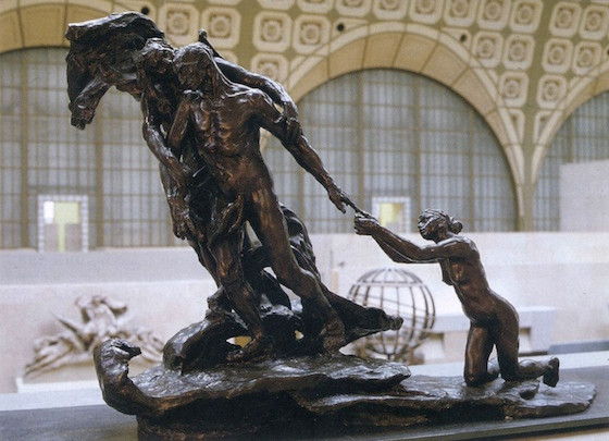 The Age of Maturity or Destiny by Camille Claudel, 1902.