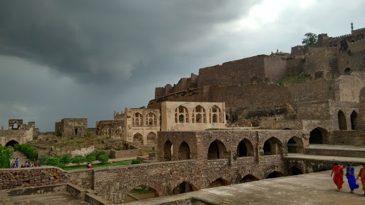 Insides of the Golconda Fort  Photo Courtesy : India & Beyond