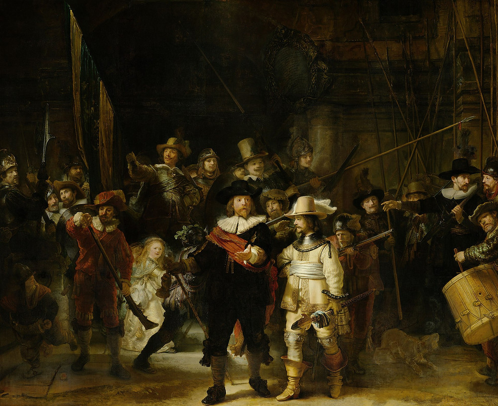 Rembrandt van Rhijn, 'The Night Watch', 1642