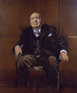 Sutherlands' 'Portrait of Winston Churchill' Image Credit - Wikipedia