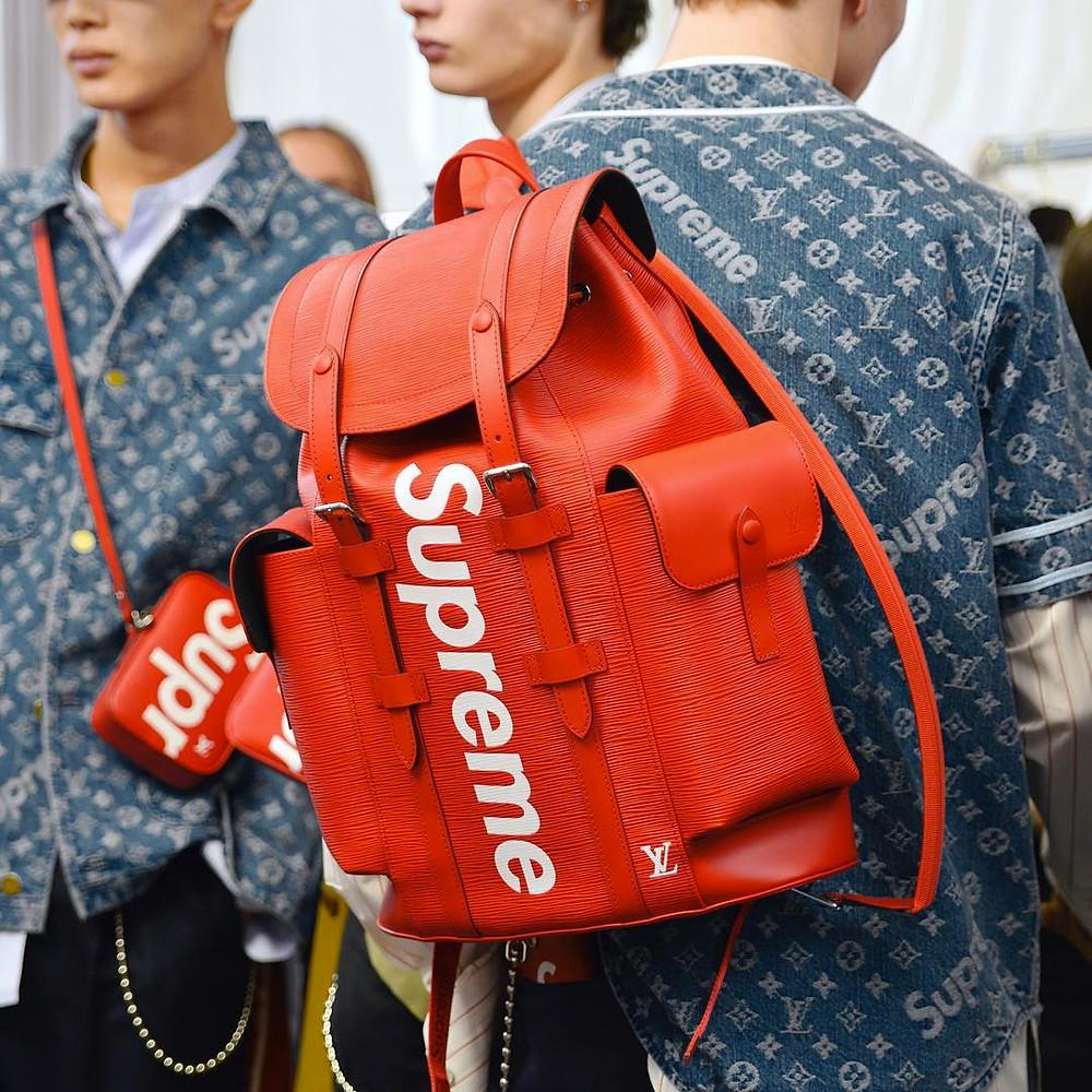 Supreme x Louis Vuitton Streetwear