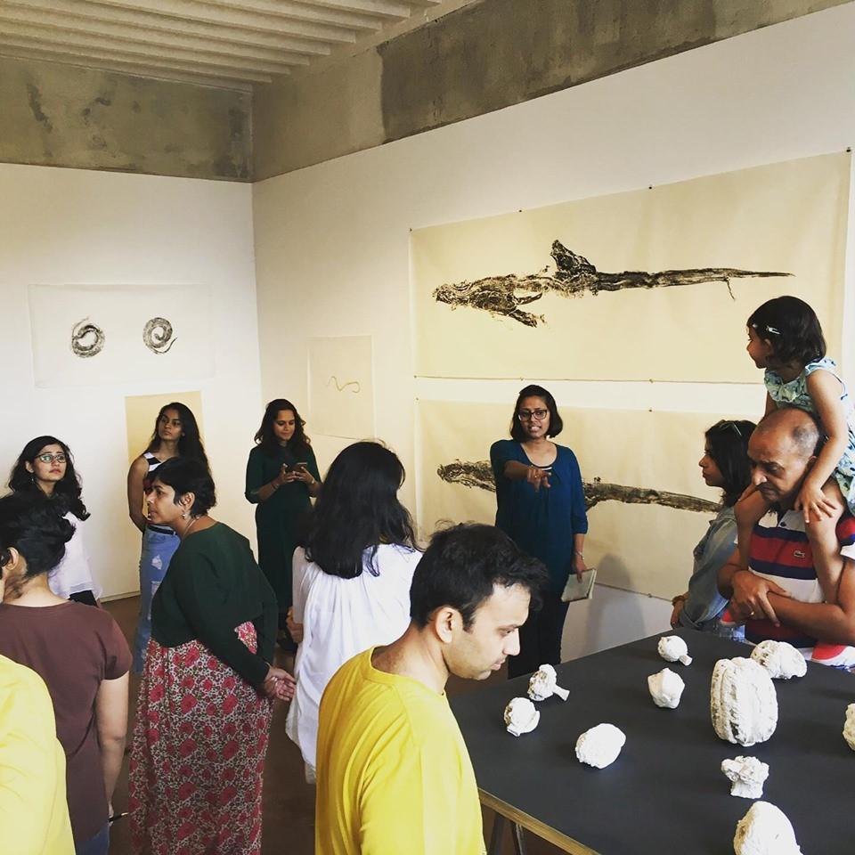 Art Walks Mumbai at Jhaveri Contemporary's 'Simryn Gill: Soft Tissue' exhibition