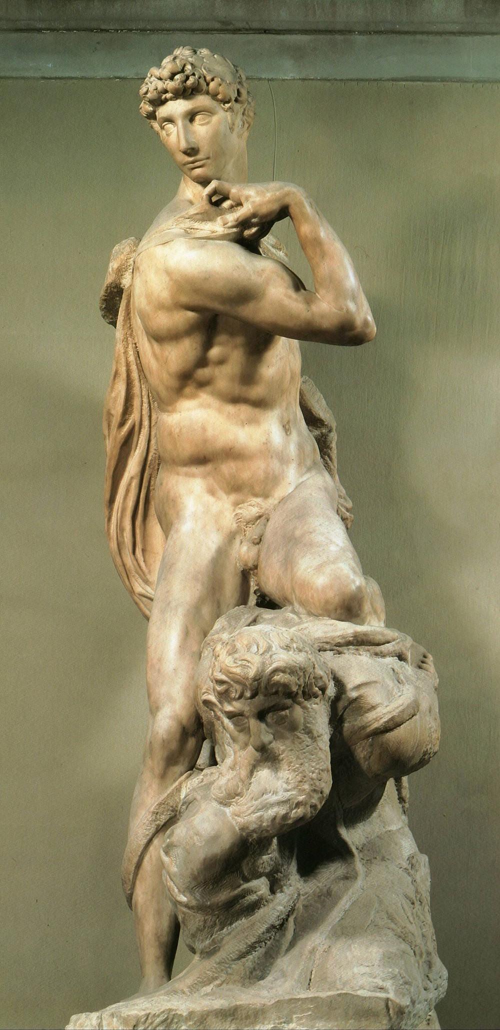 Michelangelo, 'Genius of Victory', 1532-34