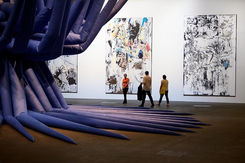 Installation view of Art Basel, Basel 2017