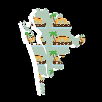 Illustrated map of kochi