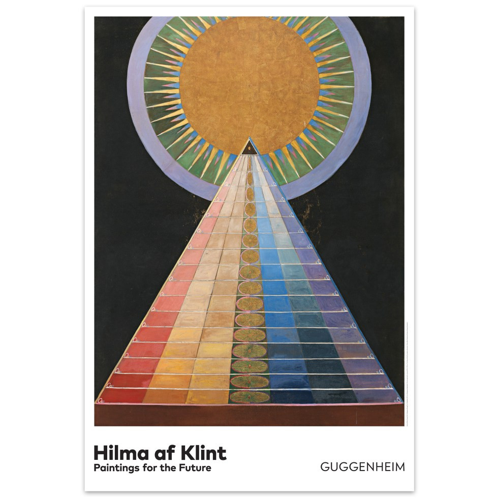 'Hilma af Klint: Paintings for the Future' at the Guggenheim Museum, New York