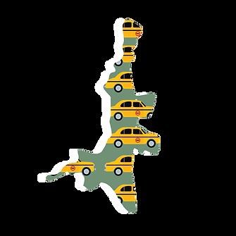 Illustrated map of kolkata