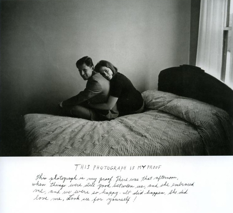 Duane Michals, 'This Photograph is my Proof', 1967. Image credits: Context and Narrative