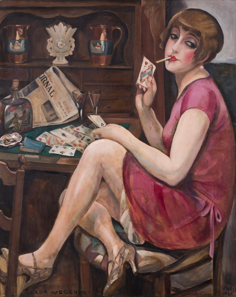 Gerda Wegener, 'Queen of Hearts (Lili)', Paris, 1928