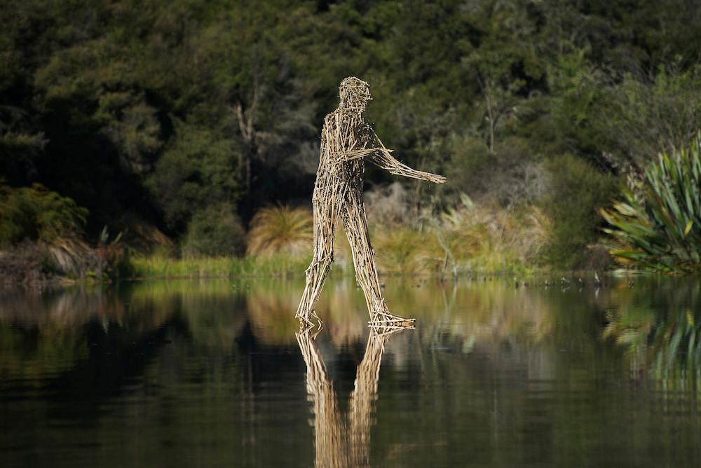 Martin Hill, 'We Walk on Water', 2013, Hawea River Wetland, Wanaka, New Zealand