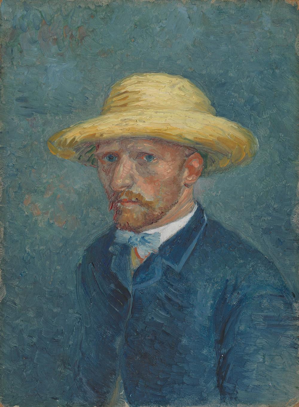 Vincent Van Gogh, 'Portrait of Theo Van Gogh', 1887