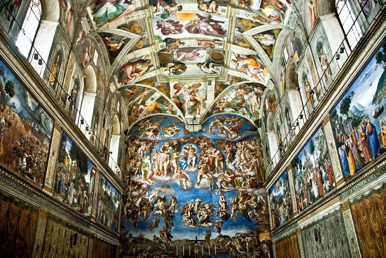 Sistine Chappel Ceiling