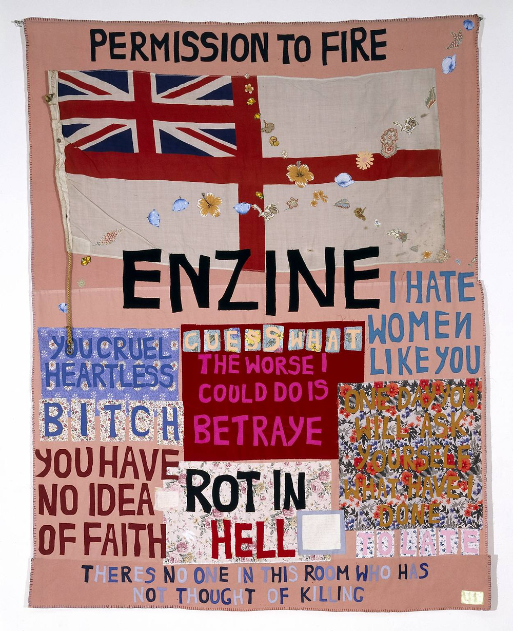 Tracey Emin, 'Hate and Power can be a Terrible Thing', 2004. Image credits: Tate Museum.