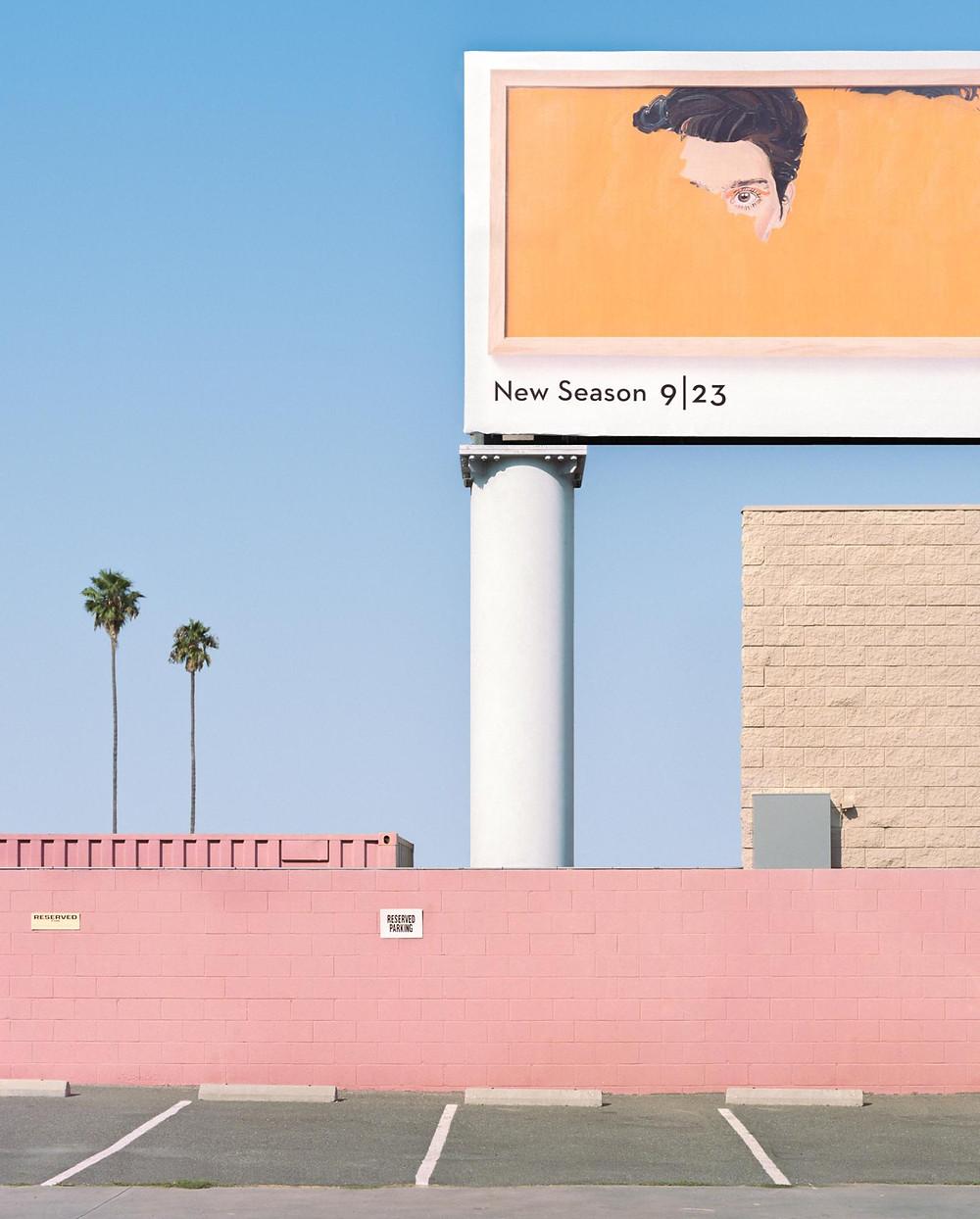 George Byrne, 'Transparent Billboard', 2016. Photo Courtesy: Akara Art