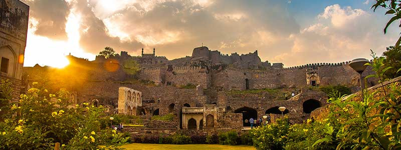 The Golconda Fort, Image credits: Hyderabad Toruism