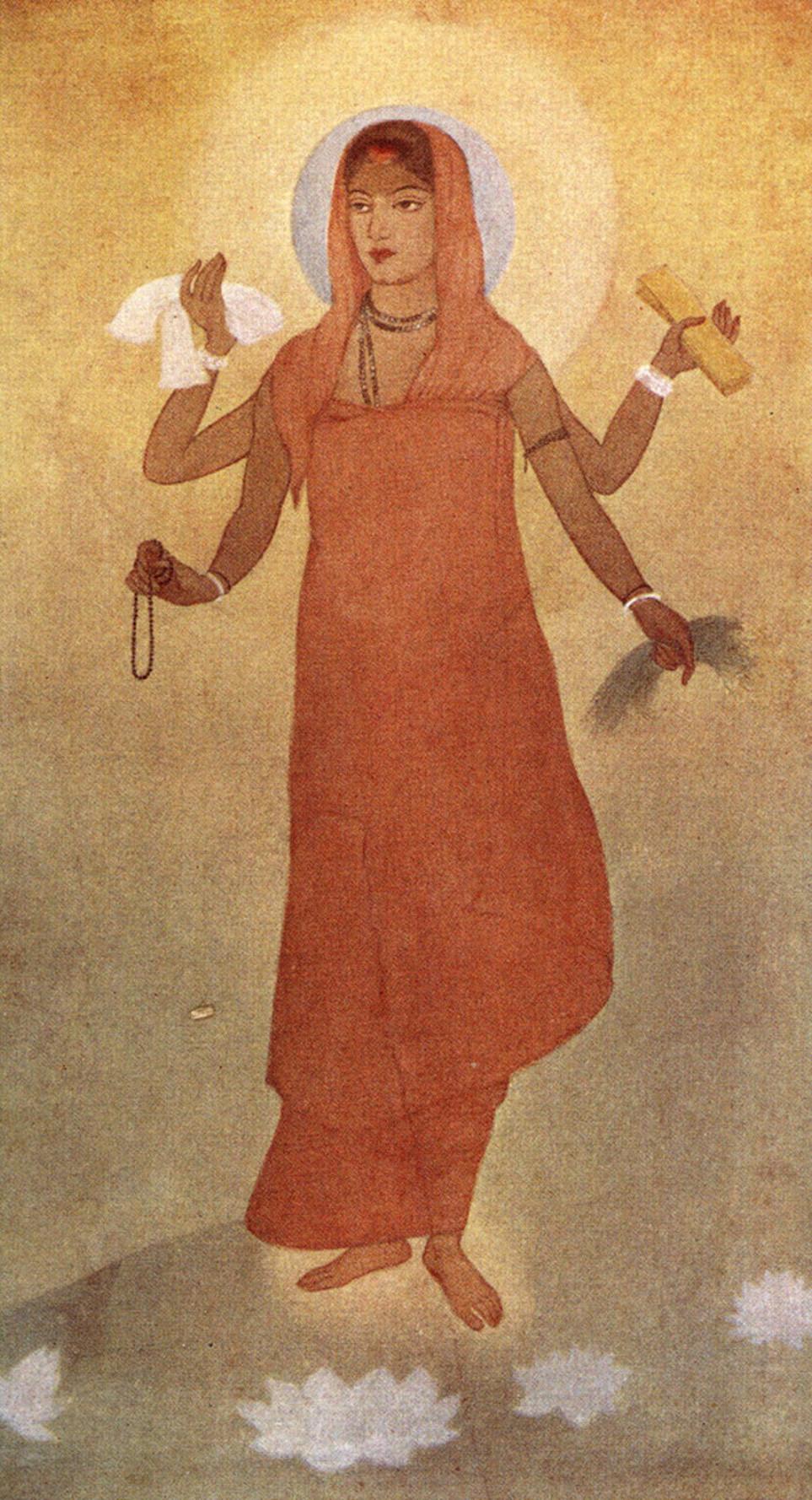 Abanindranath Tagore, 'Bharat Mata', 1906