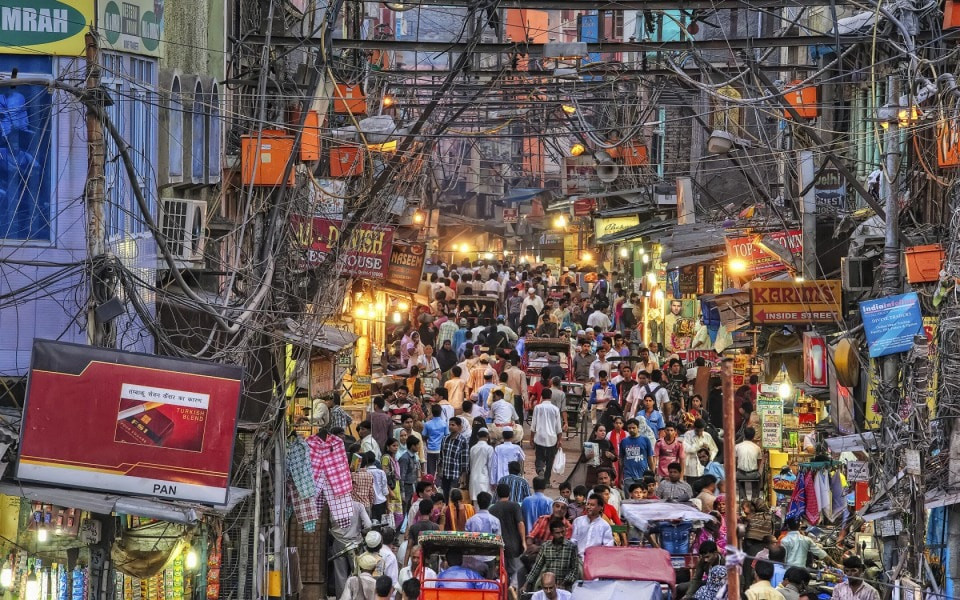 The Streets of Old Delhi, Image credits: Trip Tap Toe