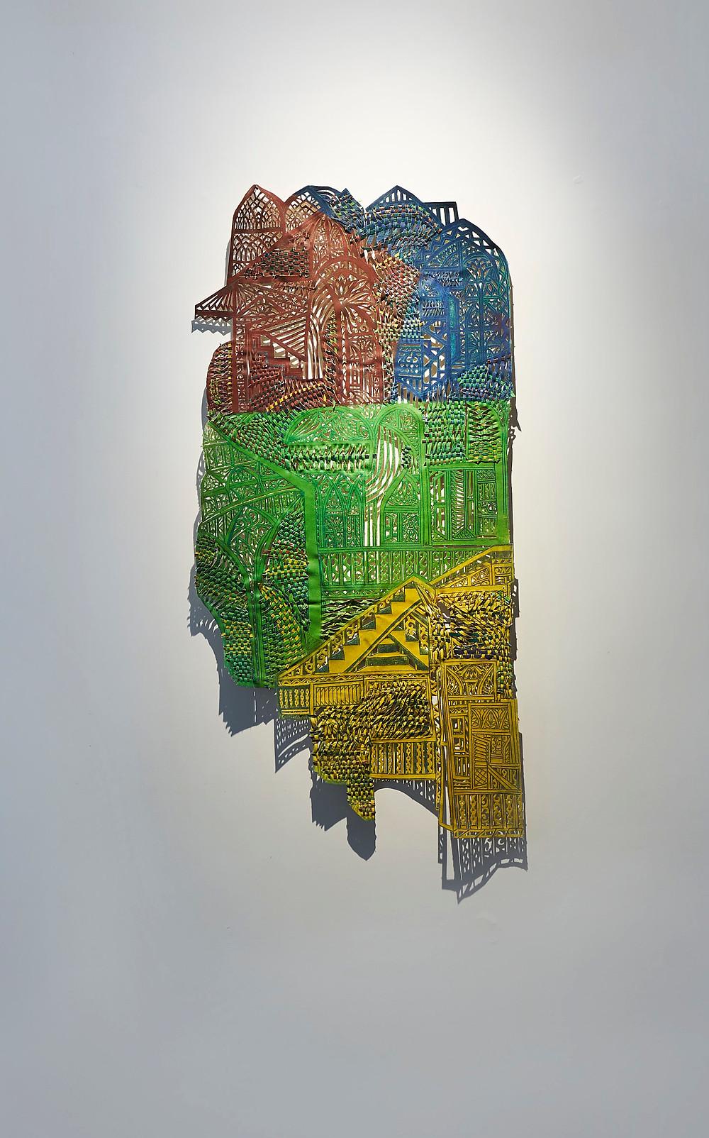Boshudhara Mukherjee, '3 Stories', 2014