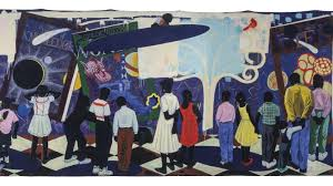 'Knowledge and Wonder' by Kerry James Marshall