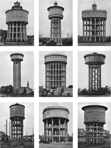 Typology Watertowers, 1967-1997 Konrad Fischer Galerie