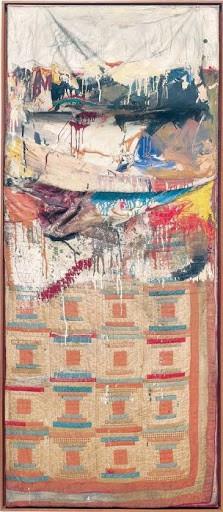 Bed, Robert Rauschenberg | Source: Artnet