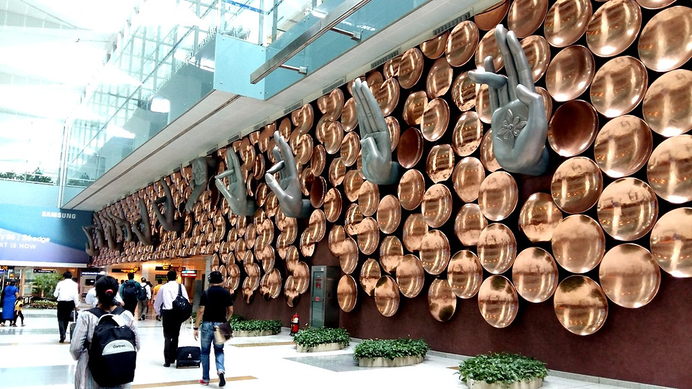 Ayush Kasliwal, 'Nine Mudras', Indira Gandhi International Airport