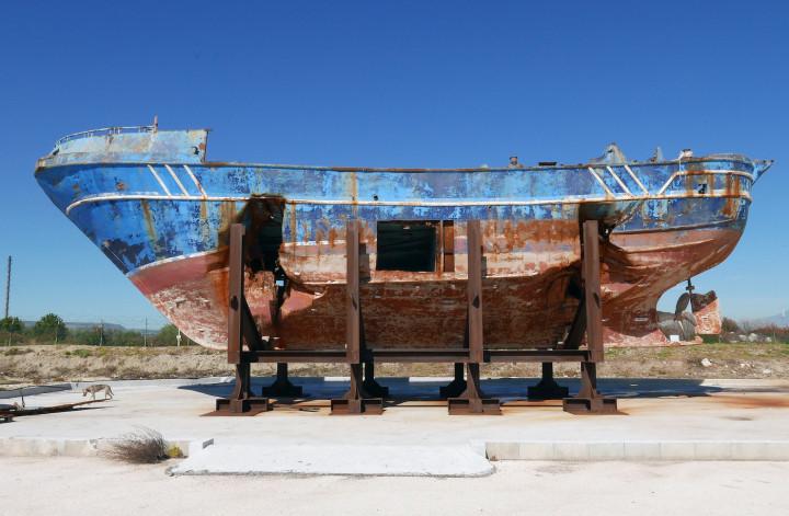 Christop Buchel, 'Migrant Ship'