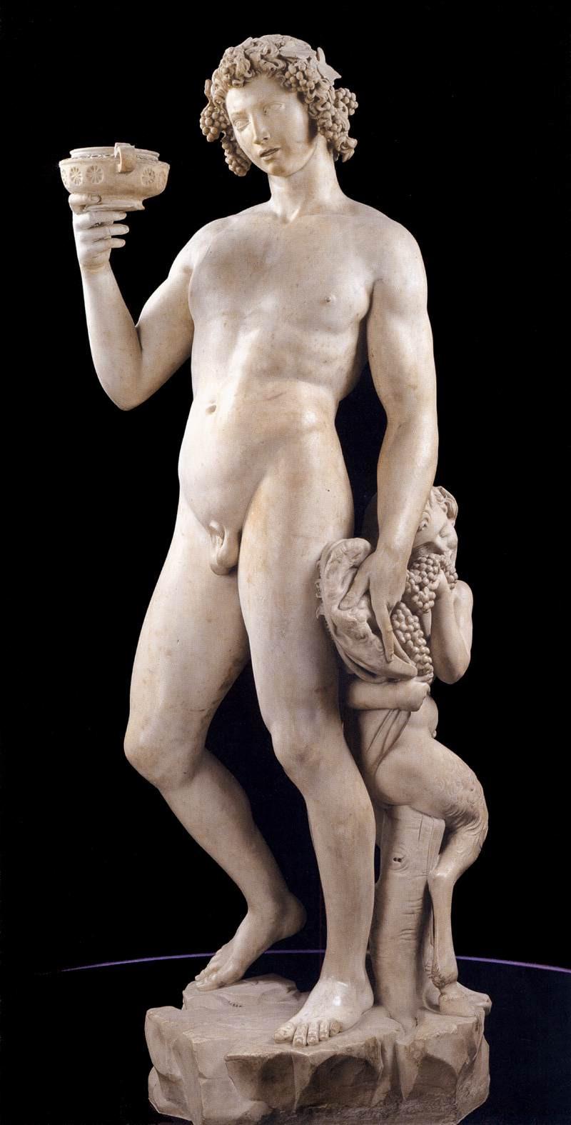 Michelangelo, 'Bacchus', 1497