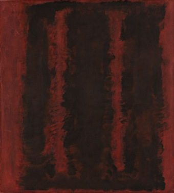 Black on Maroon, 1958, Photo: Tate Modern, London.