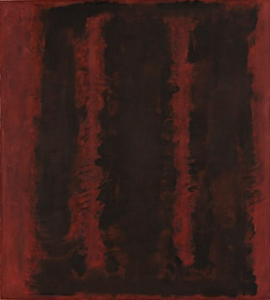 Black on Maroon, 1958, Photo: Tate Modern, London.