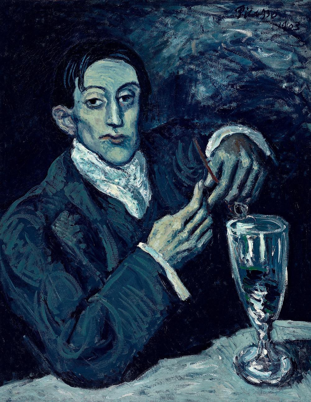 Pablo Picasso, 'Portrait of Angel Fernandez de Soto', 1903