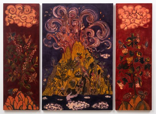 Lavanya Mani, 'Herbarium (triptych)', 2019