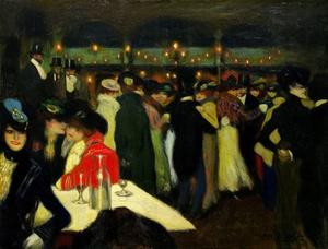 'Le Moulin de la Galette', Pablo Picasso, Paris, 1900 Courtesy: Guggenheim