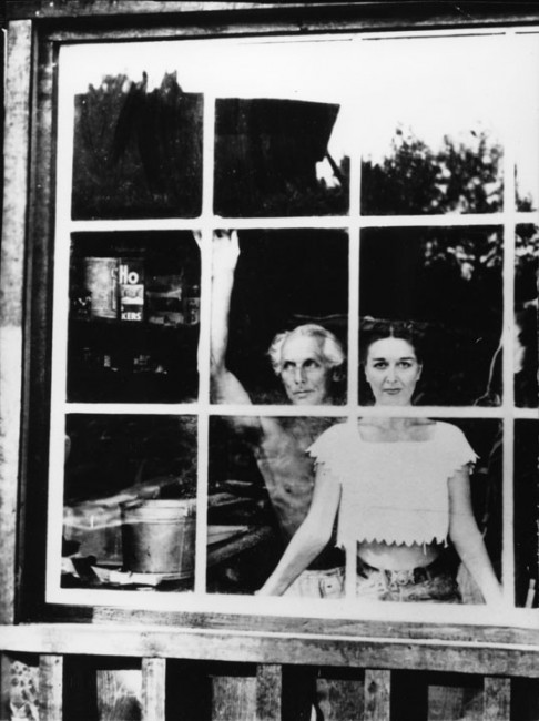 Dorothea Tanning and Max Ernst. Photograph by Lee Miller