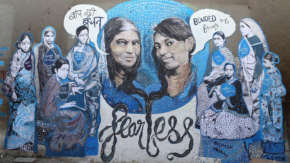 Shilo Shiv Suleman, 'Fearless' public artwork