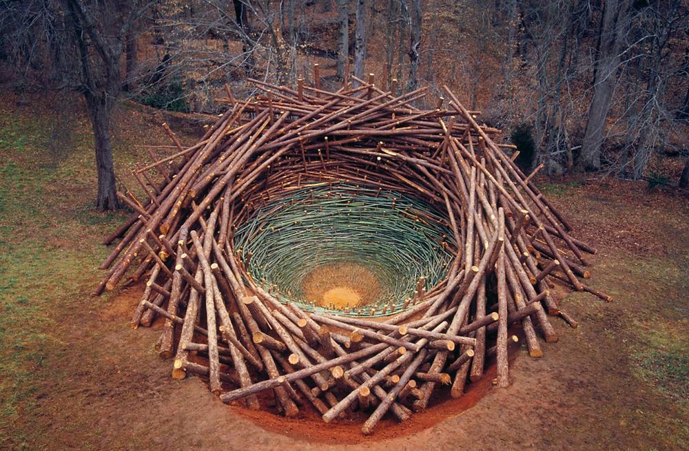 Nils Udo, 'Clemson Clay Nest', 2005, South Carolina
