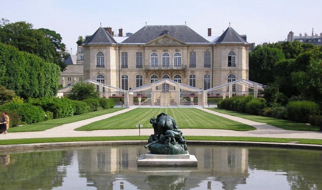 Musee Rodin housed in Hotel Biron, Paris.