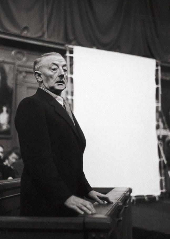 Han Van Meegeren on trial, in 1947  Image Credit: The New Yorker